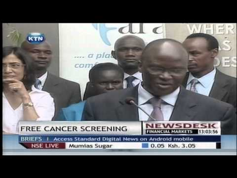 Free cancer care centre launched in Nairobi