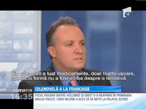 Idila dintre Francois Hollande şi Julie Gayet