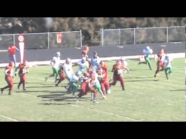 11-2-13 - It's a 20 yard scoring run for Randy Baker (Brush 41, The Academy 6)