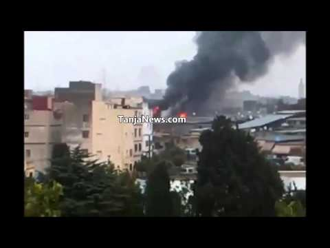 طنجة: إندلاع حريق بسوق المتلاشيات بكاسبراطا