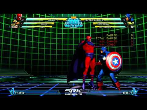 Marvel Hyper Guide - Magneto - Apprentice Combos