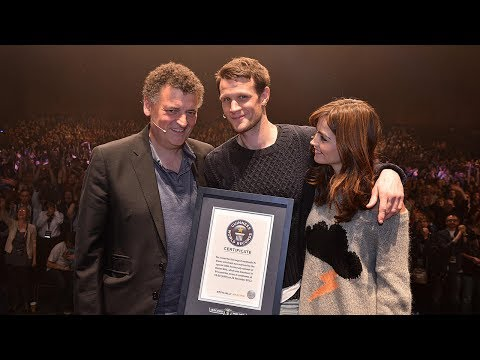 The Day of the Doctor sets World Record -- Exclusive footage -- Doctor Who