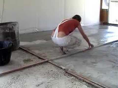 Nivelaci n suelo youtube - Como hacer un suelo de hormigon ...