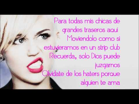 We Can't Stop -Subtitulos al español- Miley Cyrus