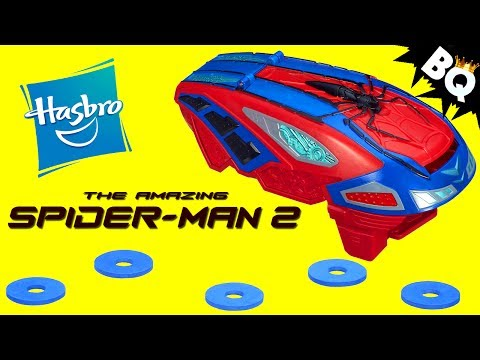 Amazing Spider Man 2 Motorized Web Blaster Hasbro Review