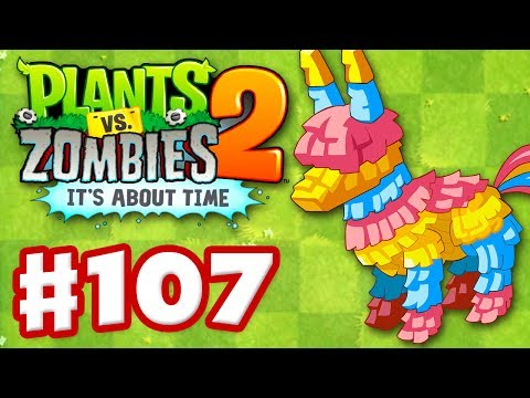 Plants vs. Zombies 2: It's About Time - Gameplay Walkthrough Part 107 - Piñata Party (iOS)