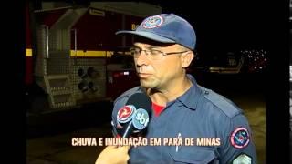 Chuva provoca alagamentos em Uberaba e Par� de Minas 2/2