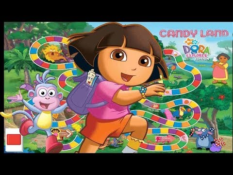 Dora The Explorer Game - Candy Land - Free Online Games - Board Game