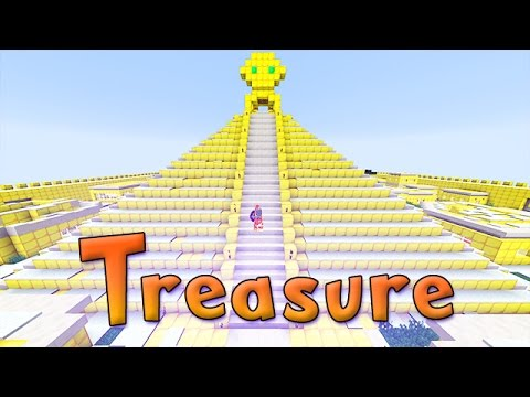 Minecraft: THE TREASURE OF THE GOLDEN CITY Custom Challenge Map!