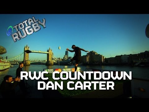 [RWC COUNTDOWN] Dan Carter Tower Bridge