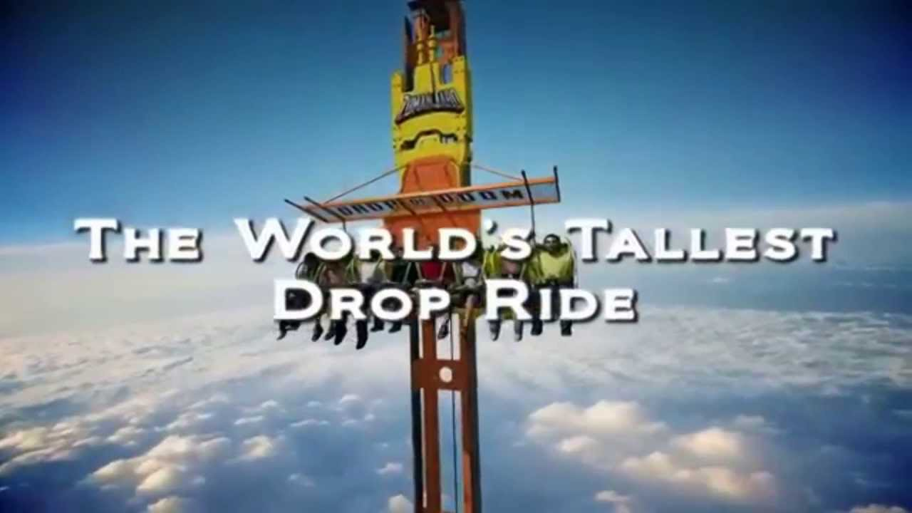 Six Flags Drop of Doom Height Six Flags Tallest Drop Tower