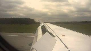 A320 Lufthansa Landing at Moscow - Domodedovo International Airport