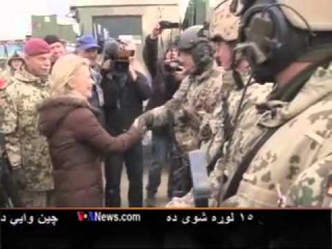 German Defense Minister visit to Afghanistan