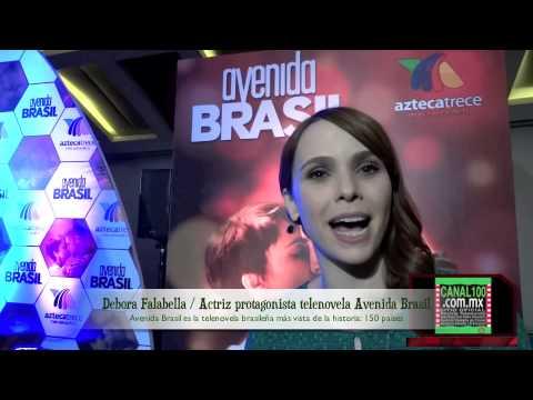 ... en Avenida Brasil por Azteca 13 / Presenta José Antonio Fernández