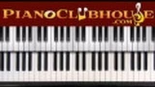 """♫ How To Play """"WHEN I LOOK INTO YOUR HOLINESS"""" Piano"""