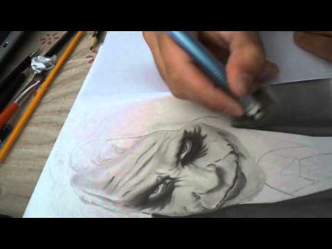 Drawing Joker - Desenhando o Coringa (Speed Drawing)