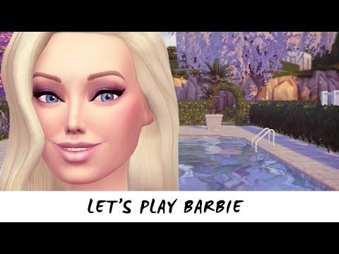 Let's Play The Sims 4 Barbie — Part 2 — Secret World!