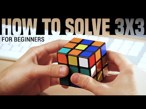 (HQ) Solving a 3x3x3 Rubik's Cube for Beginners