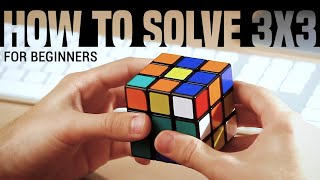 How To Solve A 3x3x3 Rubik's Cube: Easiest Tutorial (High
