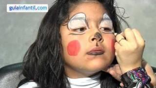 Kinderschminken Minni Maus