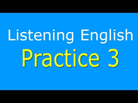 English Listening Practice Level 3 - Listening English Comprehension with Subtitle