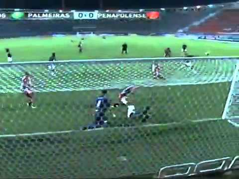 Palmeiras 1 x 0 Penapolense - Melhores Momentos - 30/01/2014 Campeonato Paulista
