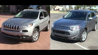 The New 2014 Jeep Cherokee Limited 4x4 Vs The New 2014
