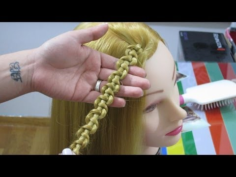 Πλεξίδα φιδιού - Snake braid tutorial