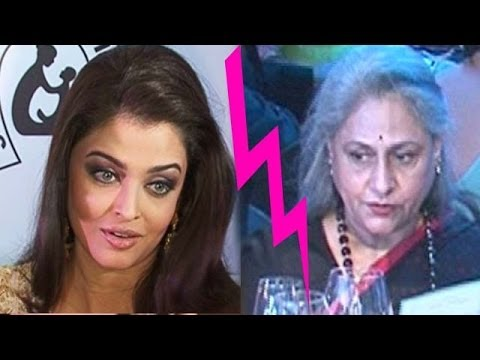 Is all not well between Aishwarya Rai & Jaya Bachchan ?
