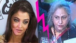Is All Not Well Between Aishwarya Rai & Jaya Bachchan