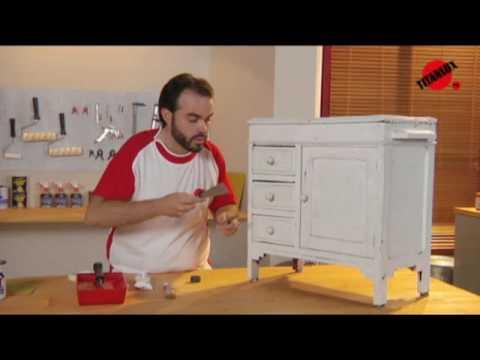 C mo restaurar un mueble youtube - Como lacar un mueble ...