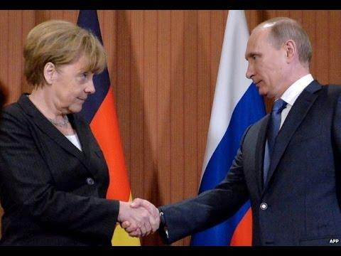 Ukraine crisis: Putin meets Poroshenko in France