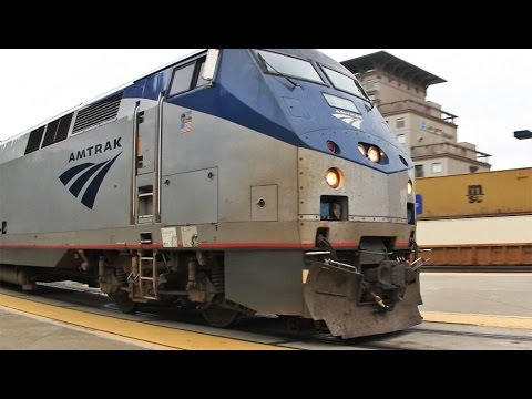 Amtrak California Zephyr to Chicago; Roomette and Train Tour