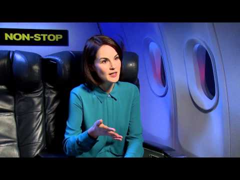 Non-Stop - Michelle Dockery interview