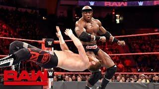 Rollins, Strowman, Bálor, Lashley & Roode vs. Zayn, Owens, The Miz & Miztourage: Raw, April 16, 2018