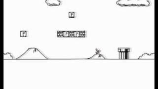 Line Rider: Super Mario Bros. 1-1