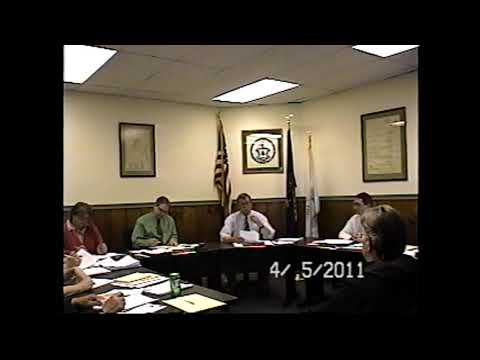 Champlain Village Board Meeting 4-5-11