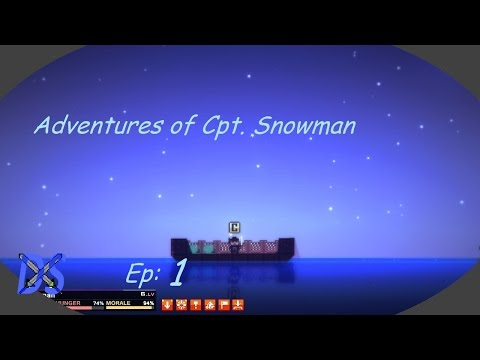 Adventures of Cpt. Snowman: Pixel Piracy Let's Play Ep:1 w/Demon Snowman
