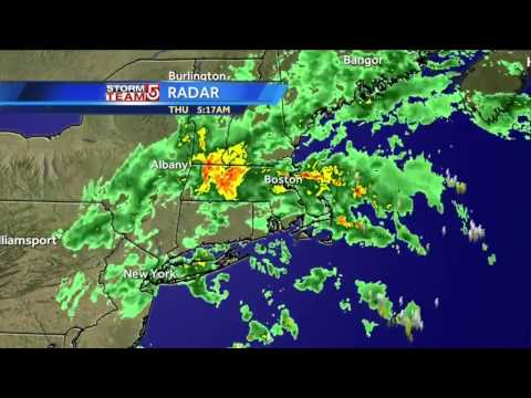 Danielle's rainy Boston-area weather forecast