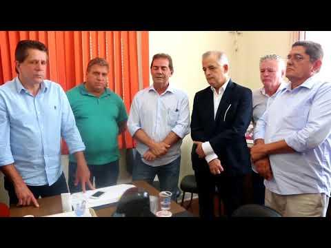 Paulinho da Força recebe o vice-governador de São Paulo, Márcio França