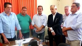 Paulinho da Força recebe Márcio França, o vice-governador de São Paulo