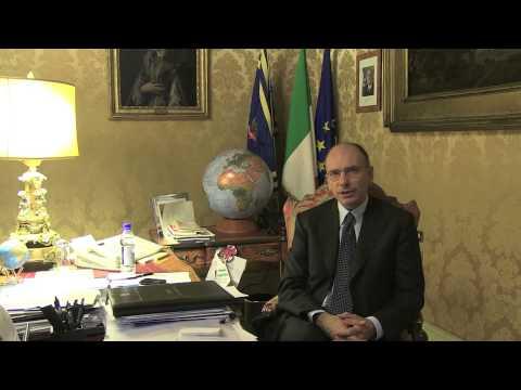Messaggio di Enrico Letta al Forum italo-francese