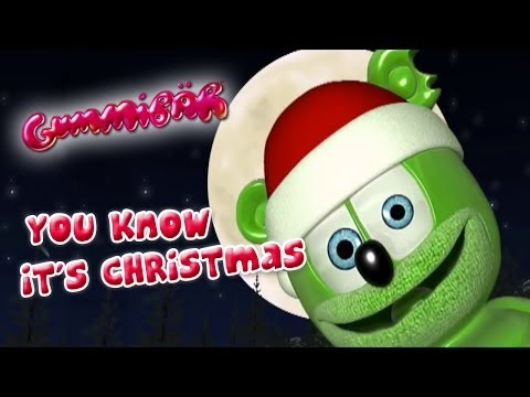 You Know It's Christmas by Gummy Bear song