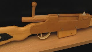 [rubber Band Gun] Bolt-action Rifle