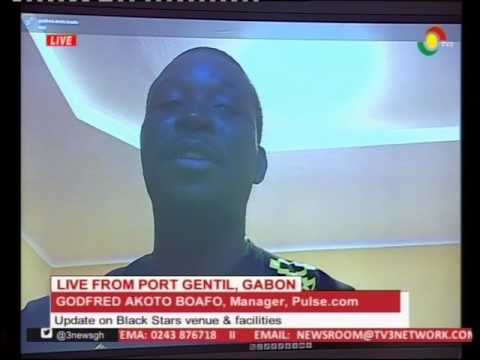 VIDEO: Black Stars venue and facilities at AFCON in Gabon