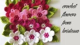 Floricele Crosetate Crizantema