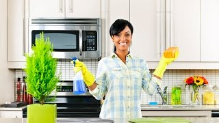 Pasos para limpiar una cocina