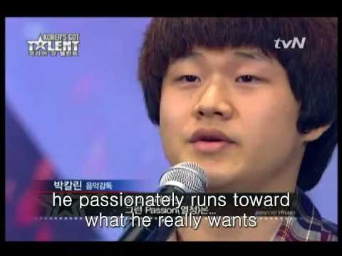 [Korea's Got Talent] Homeless Boy Sung-bong Choi!!! With An Amazing Voice Singing Opera, His song choice is so so touching with his life story. PS: lyrics + translation Nella fantasia io vedo un mondo giusto, Li tutti vivono in pace e in onestà. ...