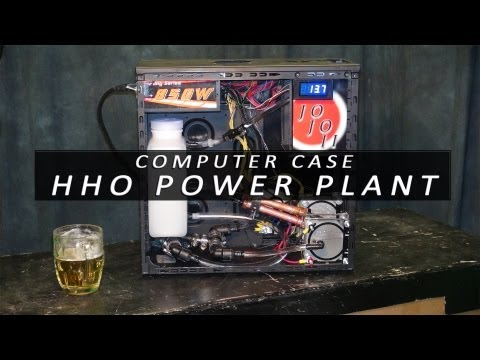 JoJo HHO Power Plant - Computer Case