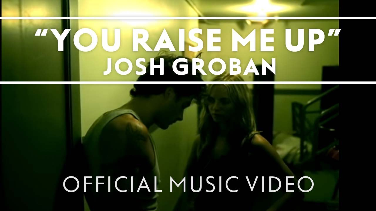 Josh Groban You Raise Me Up Official Music Video Youtube